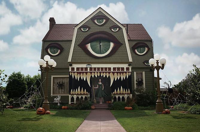 evil eye house